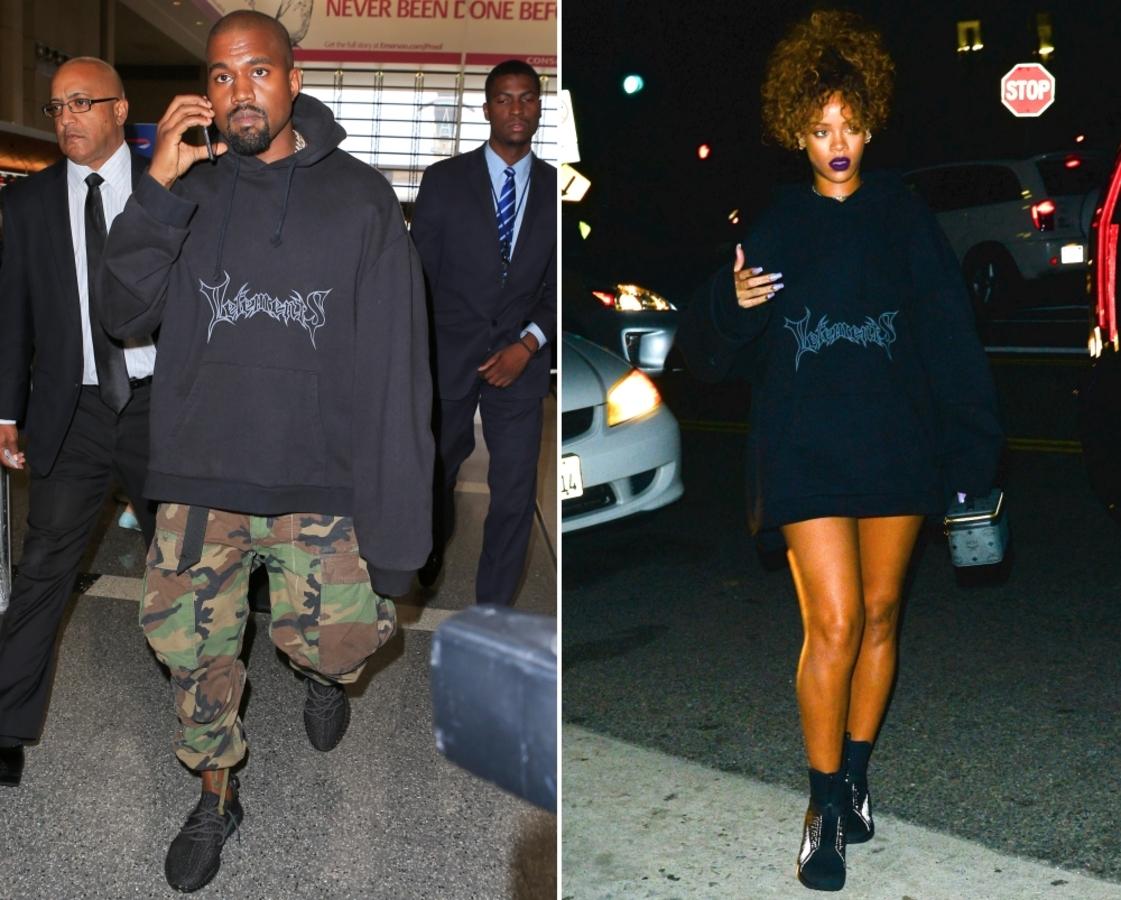 Fashion battle: Канье Уэст и Рианна