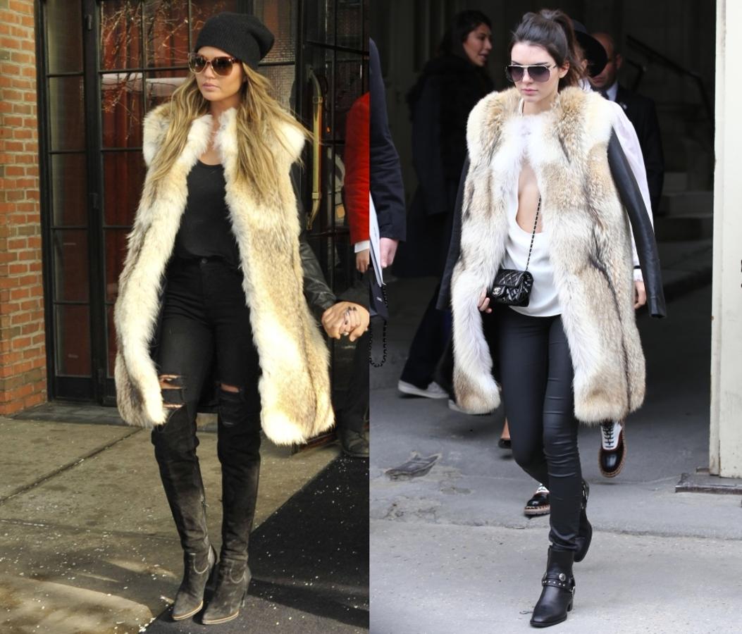 Fashion battle: Крисси Тейген и Кендалл Дженнер