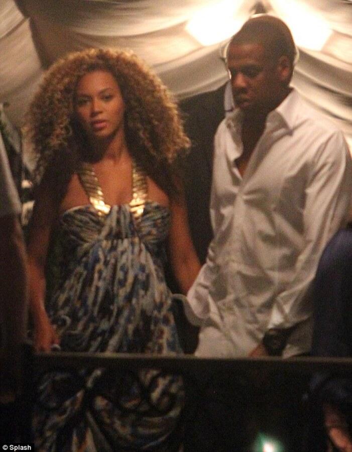Беременная Бейонсе и Jay-Z в Венеции, Италия