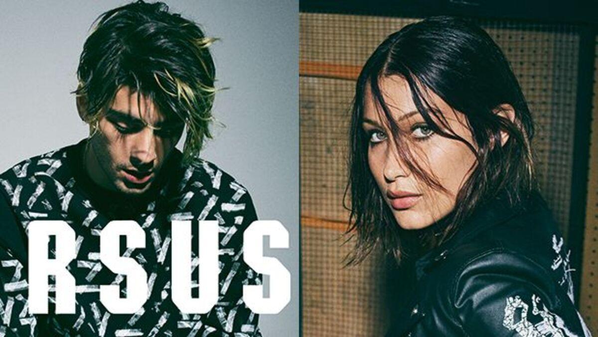 Зейн Малик снял рекламную кампанию Versace Versus с Беллой Хадид