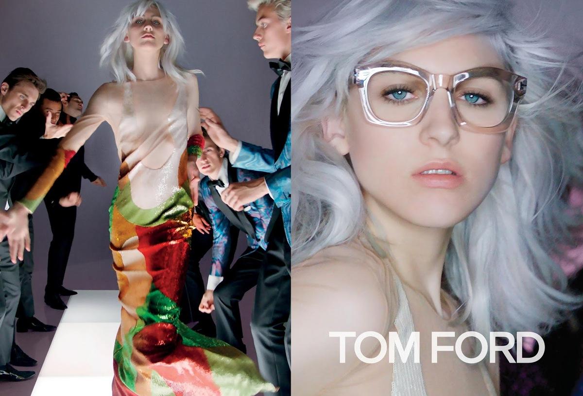 Новая рекламная кампания Tom Ford. Весна / лето 2016