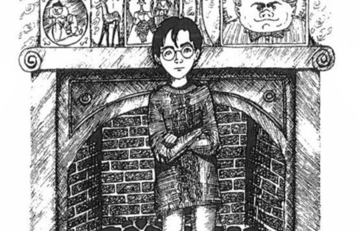 Джоан Роулинг опубликовала собственные иллюстрации к книгам о Гарри Потере