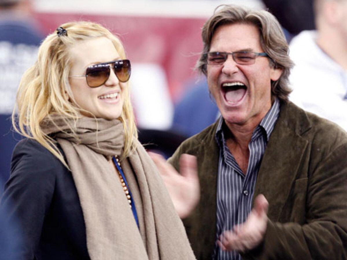 Курт Рассел надеется, что у Кейт Хадсон будет дочь
