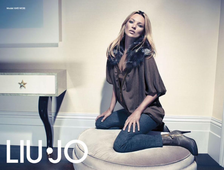 Кейт Мосс в рекламе  Liu Jo