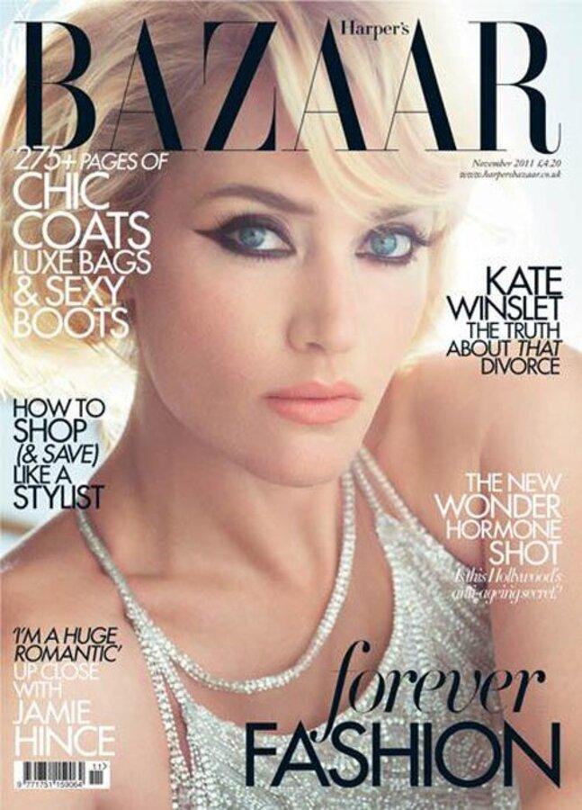 Кейт Уинслет в журнале Harper's Bazaar Великобритания. Ноябрь 2011