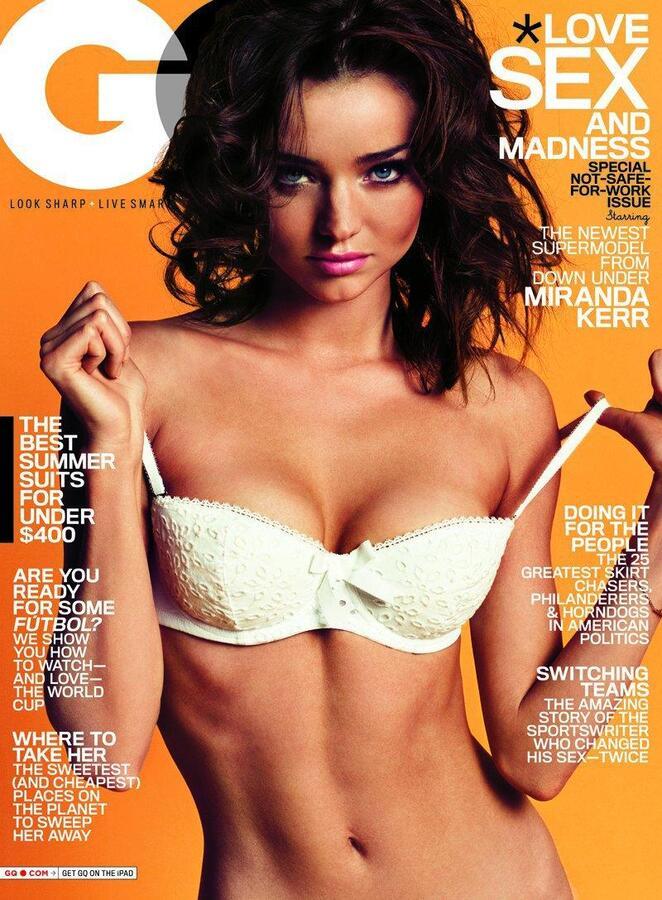 Миранда Керр в журнале GQ. Июнь 2010