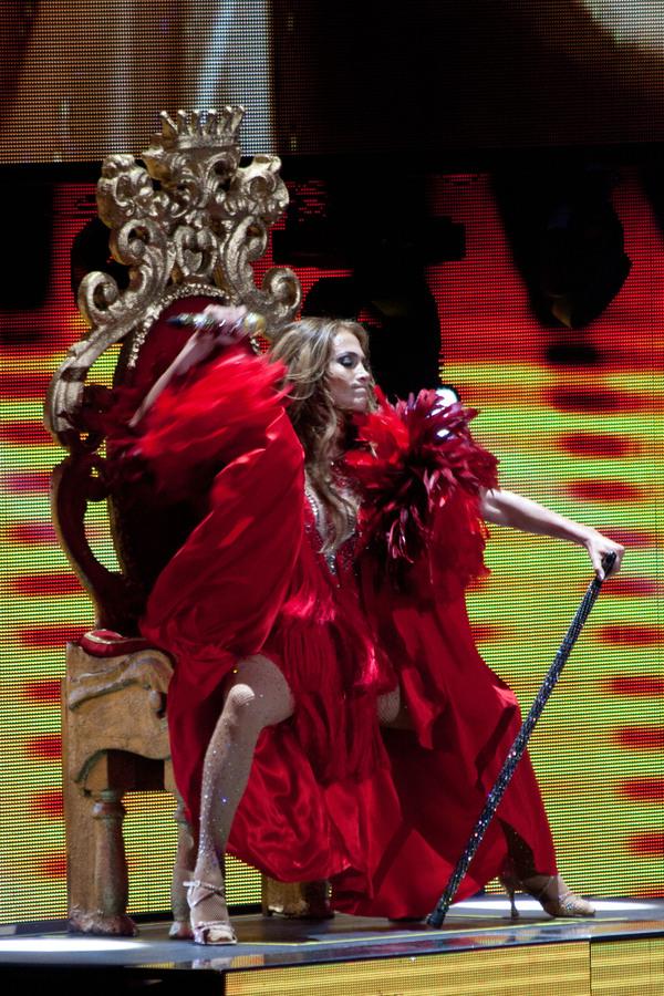 Выступление Дженнифер Лопес на фестивале iHeartRadio