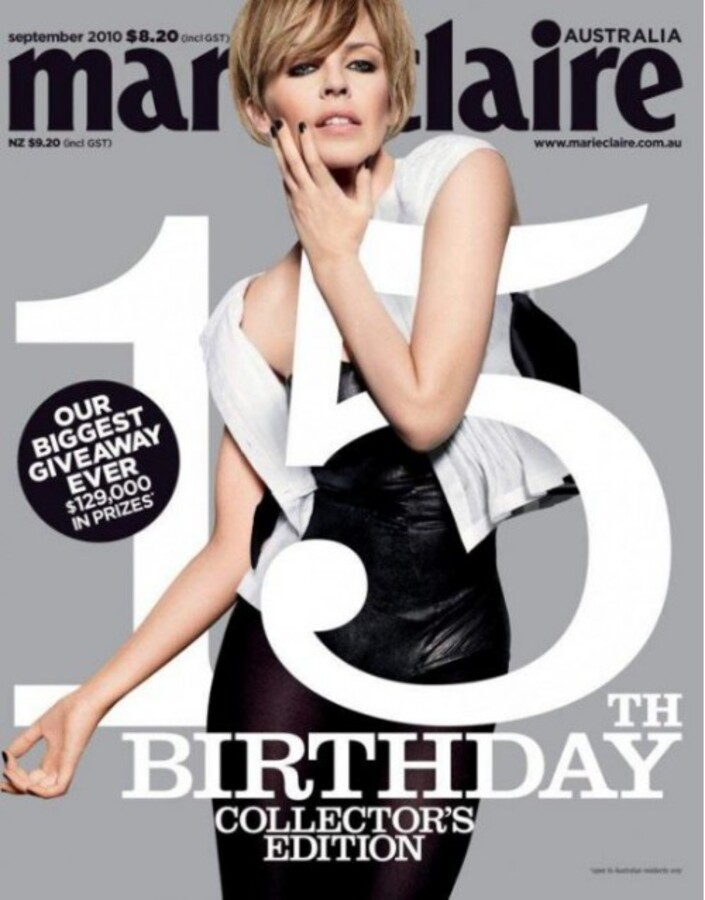 Кайли Миноуг в журнале Marie Claire
