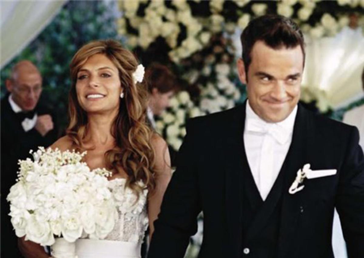 Фотосессия свадьбы Робби Уильямса