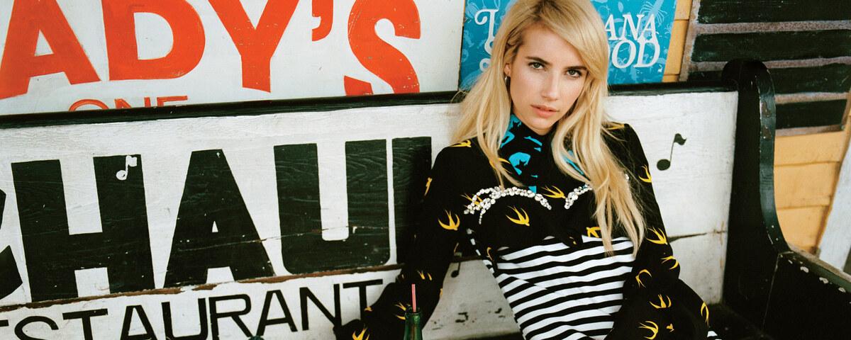 Эмма Робертс в журнале Teen Vogue. Ноябрь 2015