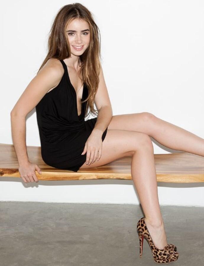 Лили Коллинз в журнале Esquire. Сентябрь 2011