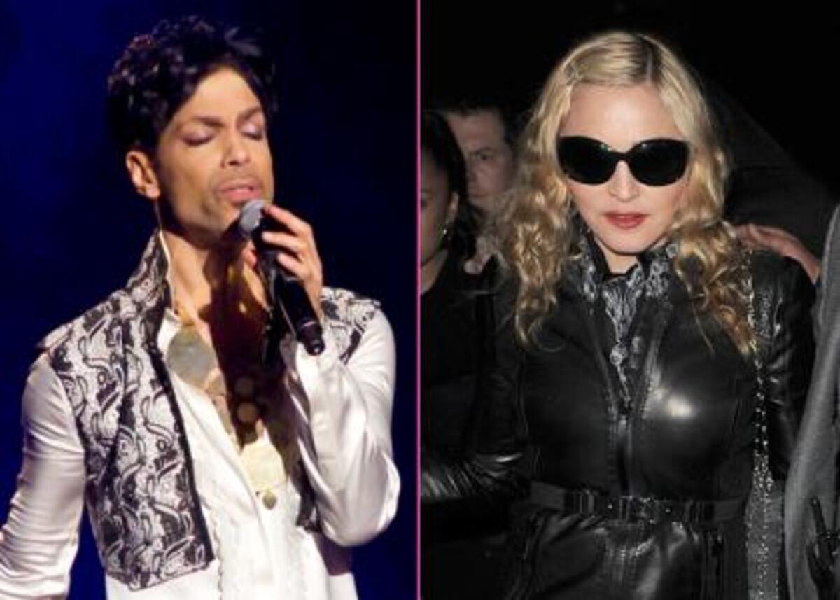 Принц и Мадонна готовы провести черту после многолетней вражды?