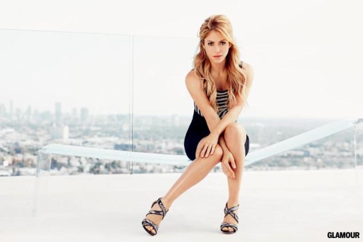 Шакира в журнале Glamour. Февраль 2014
