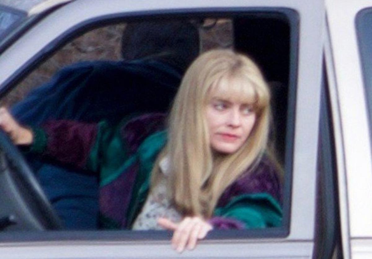 Фото: неузнаваемая Марго Робби на съемках «Я, Тоня»
