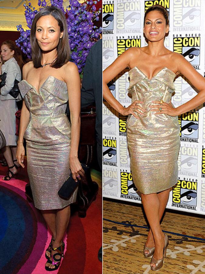 Fashion battle: Тэнди Ньютон и Ева Мендес