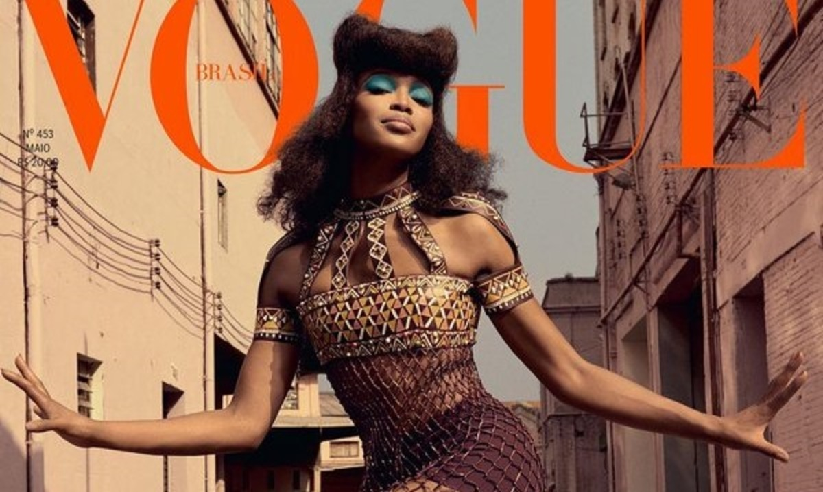 Наоми Кэмпбелл снялась для обложек Vogue Brasil (май 2016)