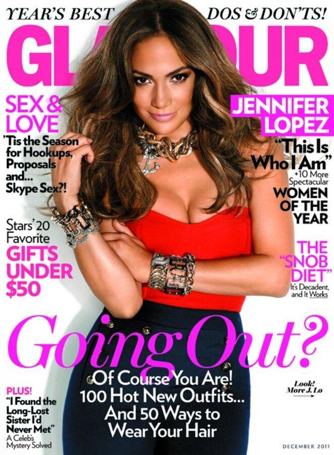 Журнал Glamour  назвал Дженнифер Лопес Женщиной года
