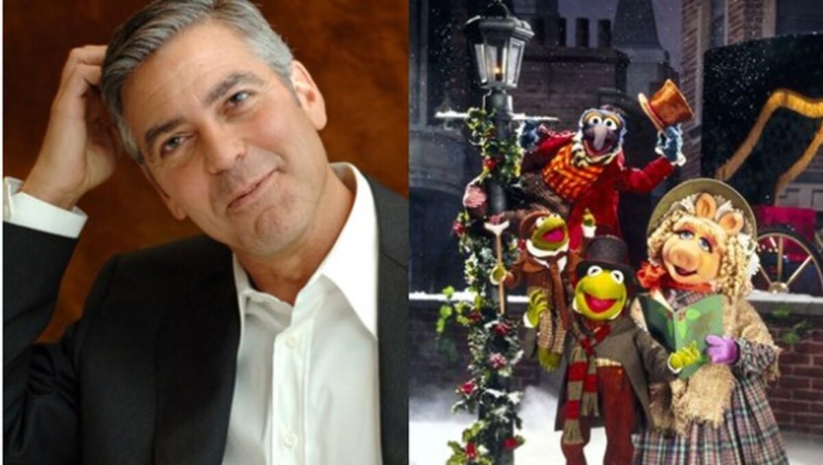 Джордж Клуни тоже любит «Маппетов»