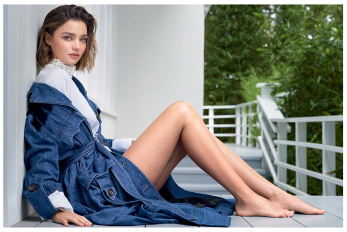 Миранда Керр в журнале Elle Бразилия, август 2016