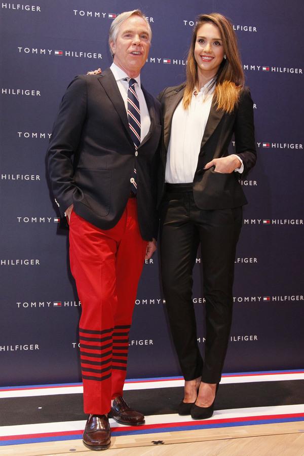 Джессика Альба на открытии бутика Tommy Hilfiger в Токио