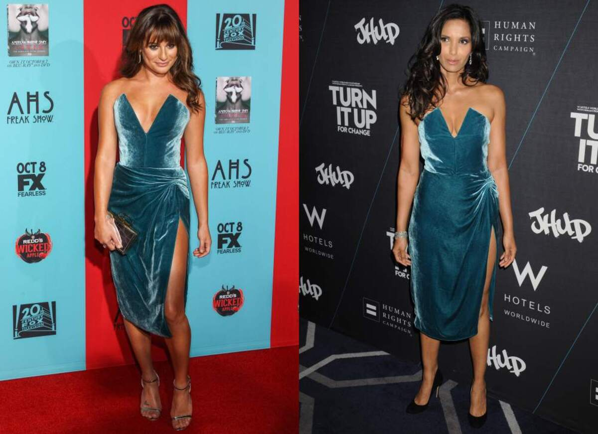 Fashion battle: Лиа Мишель и Падма Лакшми
