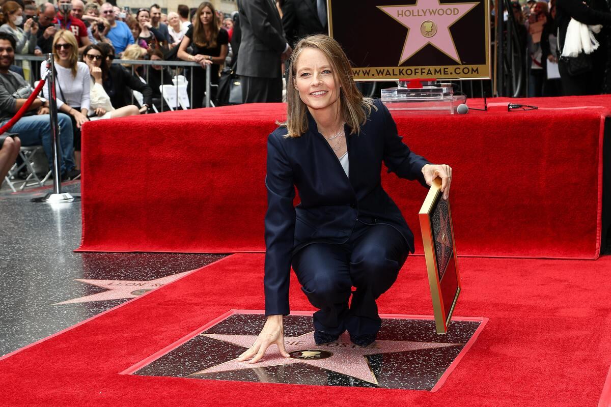 Джоди Фостер получила звезду на Аллее славы