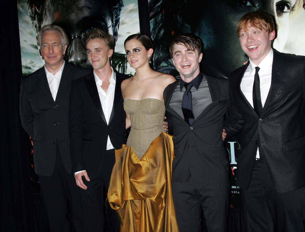 """Премьера фильма """"Гарри Поттер и Дары смерти. Часть вторая"""" в Нью-Йорке"""