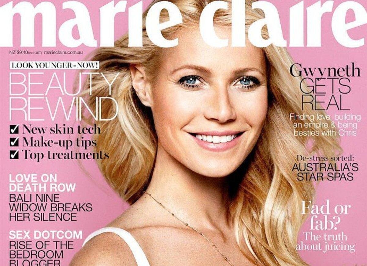 Гвинет Пэлтроу украсила обложку Marie Claire, май 2016