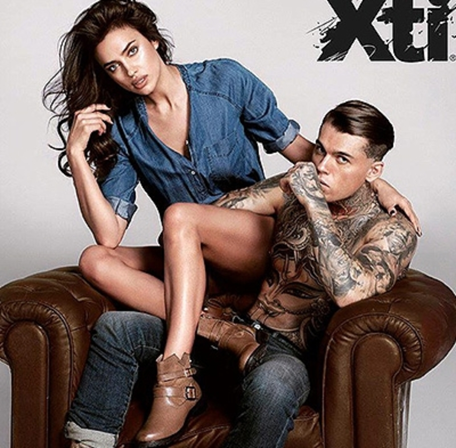 Ирина Шейк снялась в новой рекламной кампании Xti