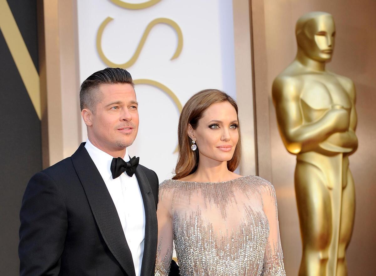 Анджелина Джоли и Брэд Питт задумали совместный проект