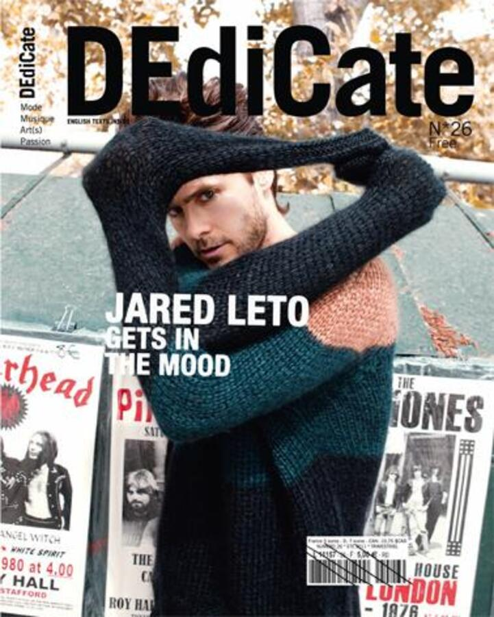 Джаред Лето в журнале DEdiCate. Июль 2011
