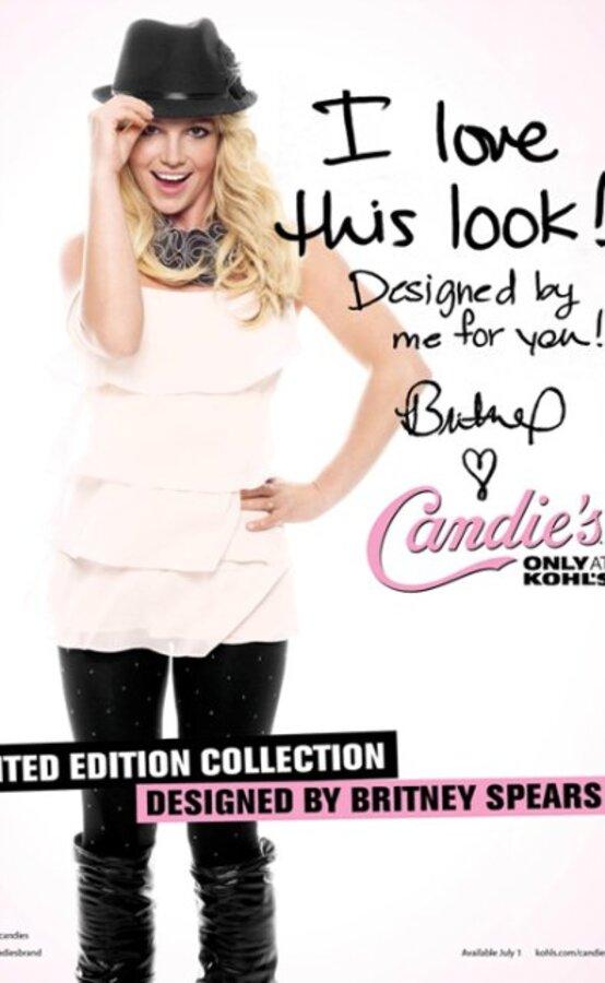 Видео: новая реклама Candies с Бритни Спирс