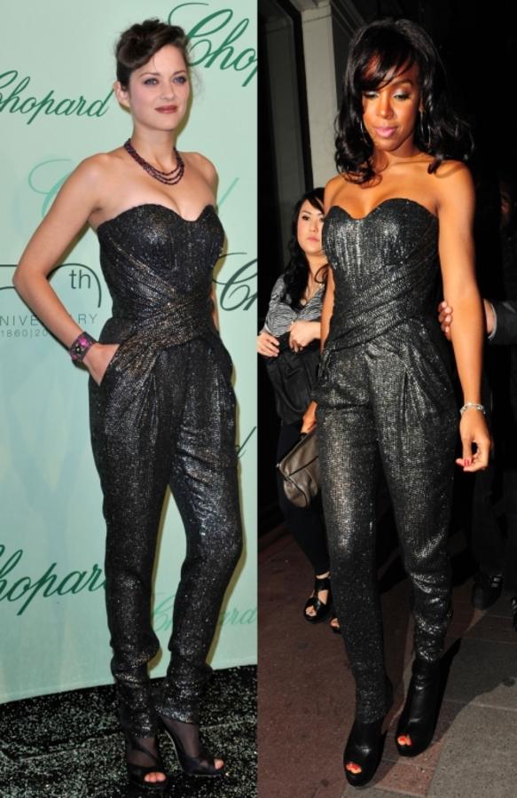 Fashion battle: Марион Котийяр и Келли Роулэнд