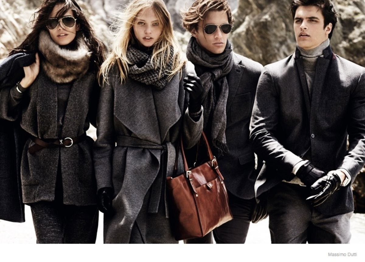 Рекламная кампания Massimo Dutti Осень / Зима 2015