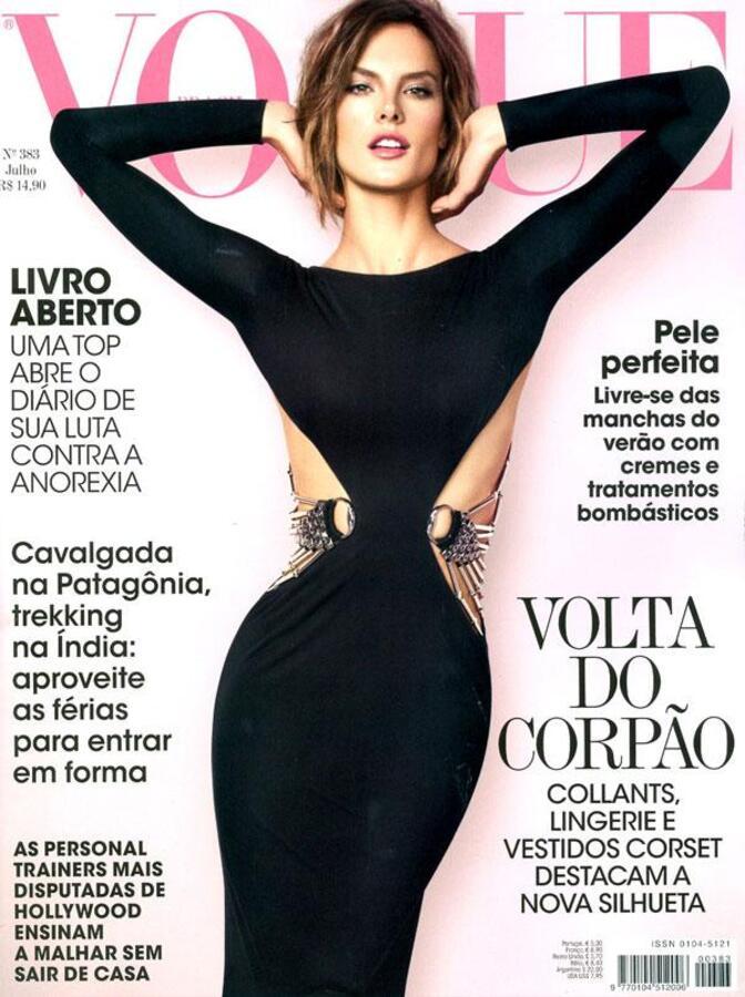 Алессандра Амбросио в журнале Voguу Бразилия. Июль 2010