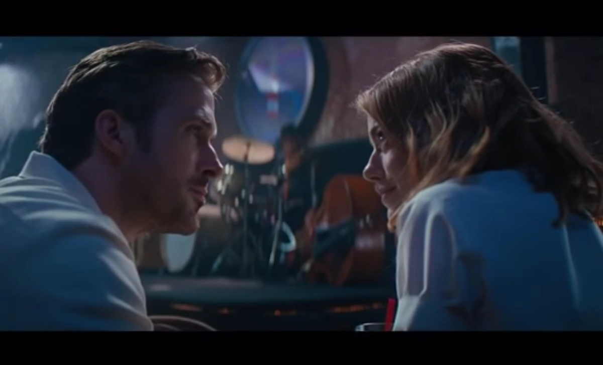 Влюбленные Райан Гослинг и Эмма Стоун в тизер-трейлере фильма «Ла Ла Лэнд»