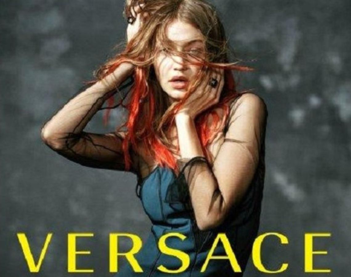 Джиджи Хадид снялась в рекламной кампании Versace осень-зима 2017-18