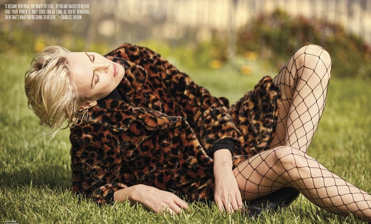 Шарлиз Терон рассказала о своем первом прослушивании в журнале V Magazine
