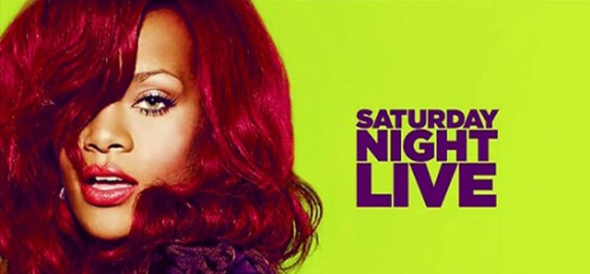 Выступление Рианны на шоу SNL