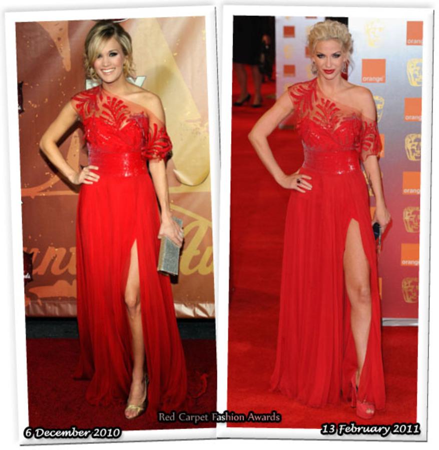 Fashion Battle: Кэрри Андервуд и Сара Хэрдинг