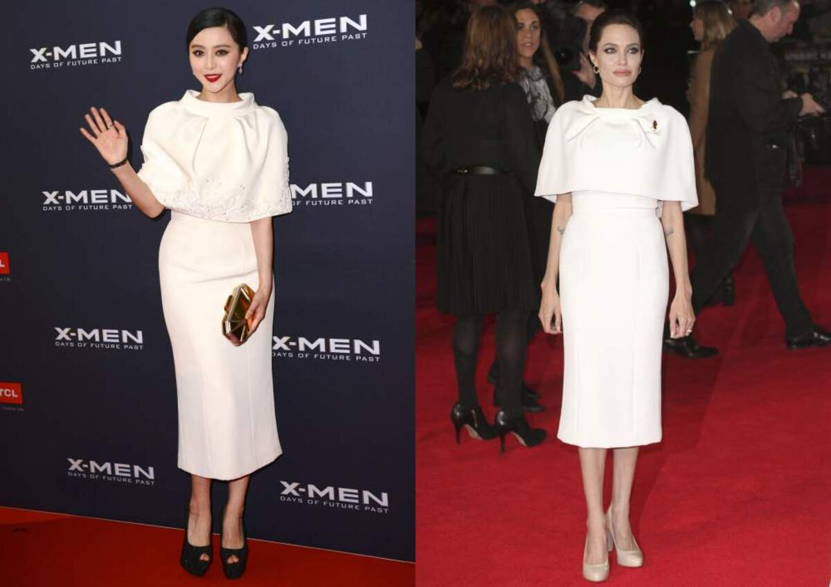 Fashion battle: Фань Бинбин и Анджелина Джоли