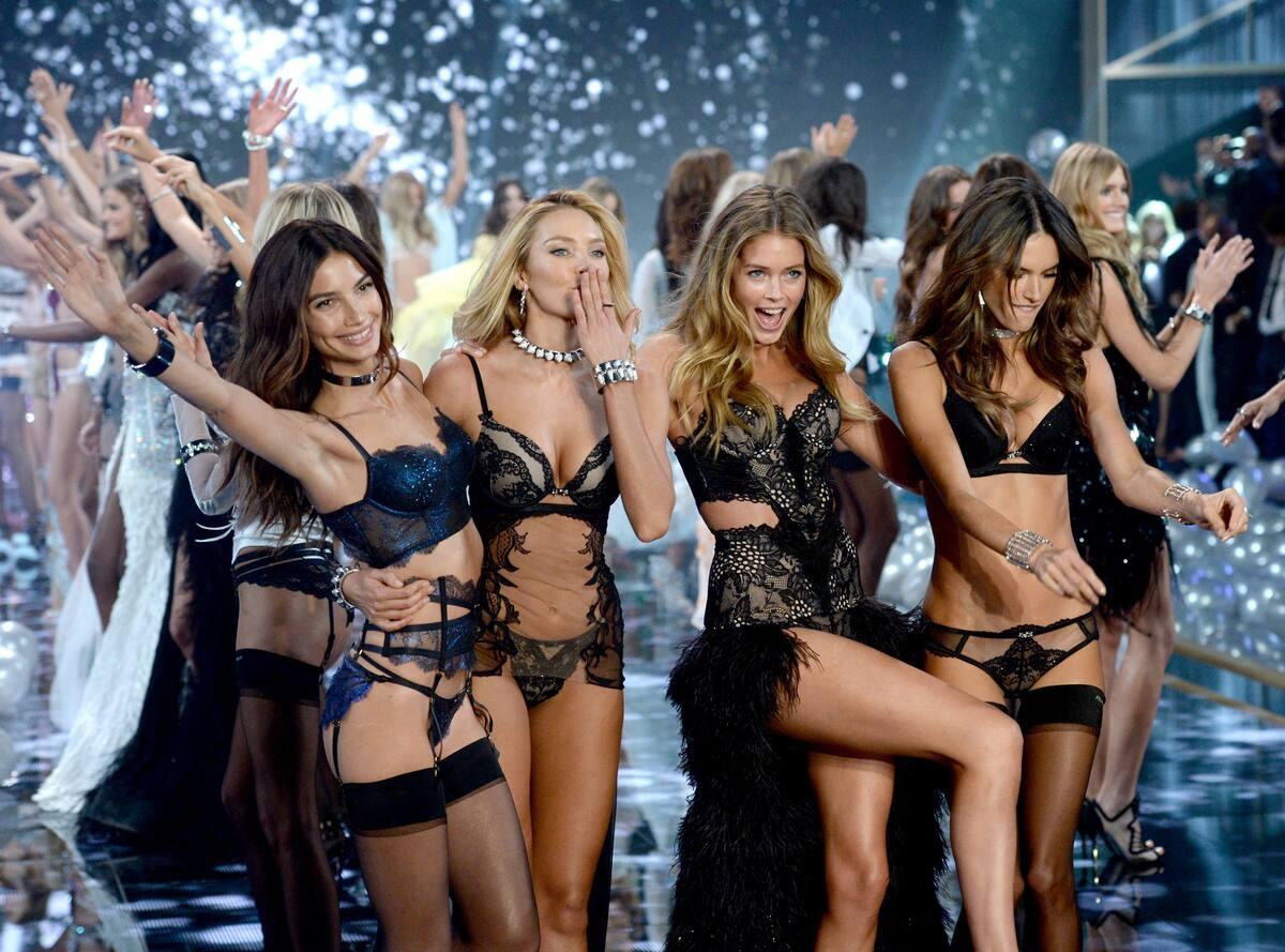 Модный показ Victoria's Secret 2014. Часть 2