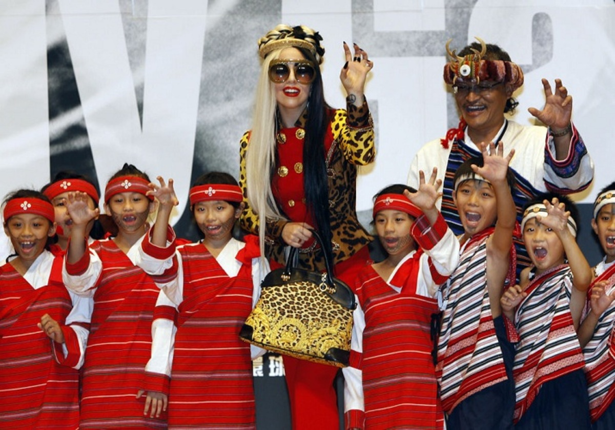 Концерт Lady GaGa на Тайване