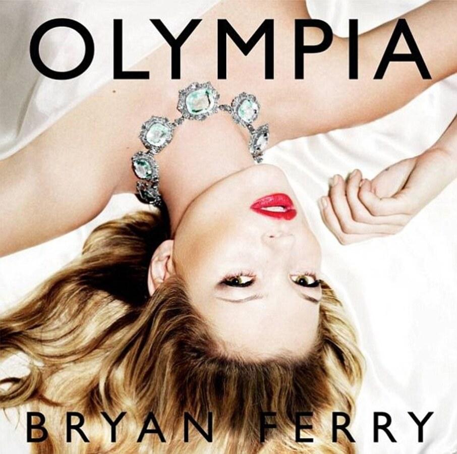 Кейт Мосс на обложке нового альбома Брайана Ферри