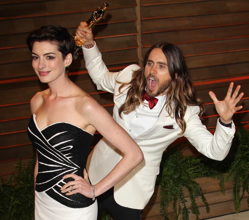 Звезды на вечеринке Vanity Fair в Голливуде