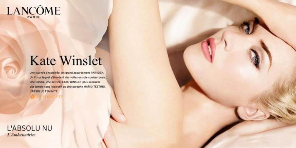 Кейт Уинслет в рекламе Lancôme