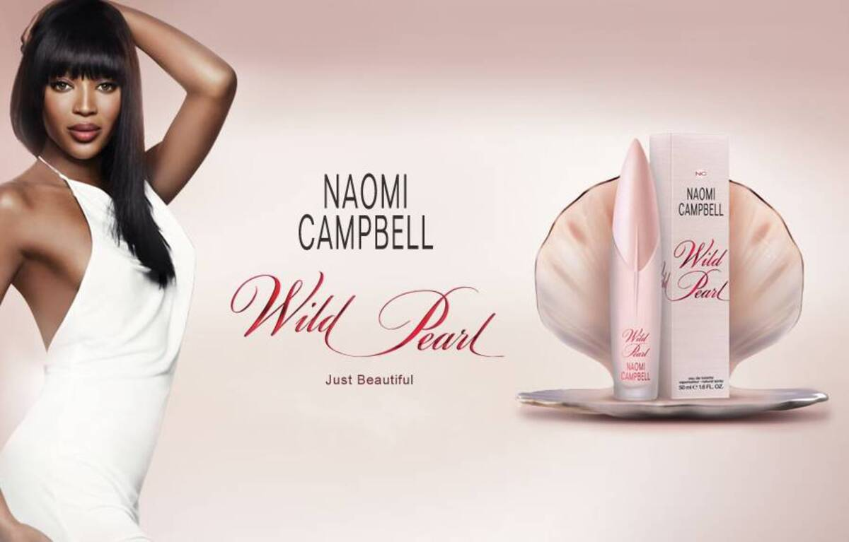 Новая туалетная вода от Наоми Кэмпбелл