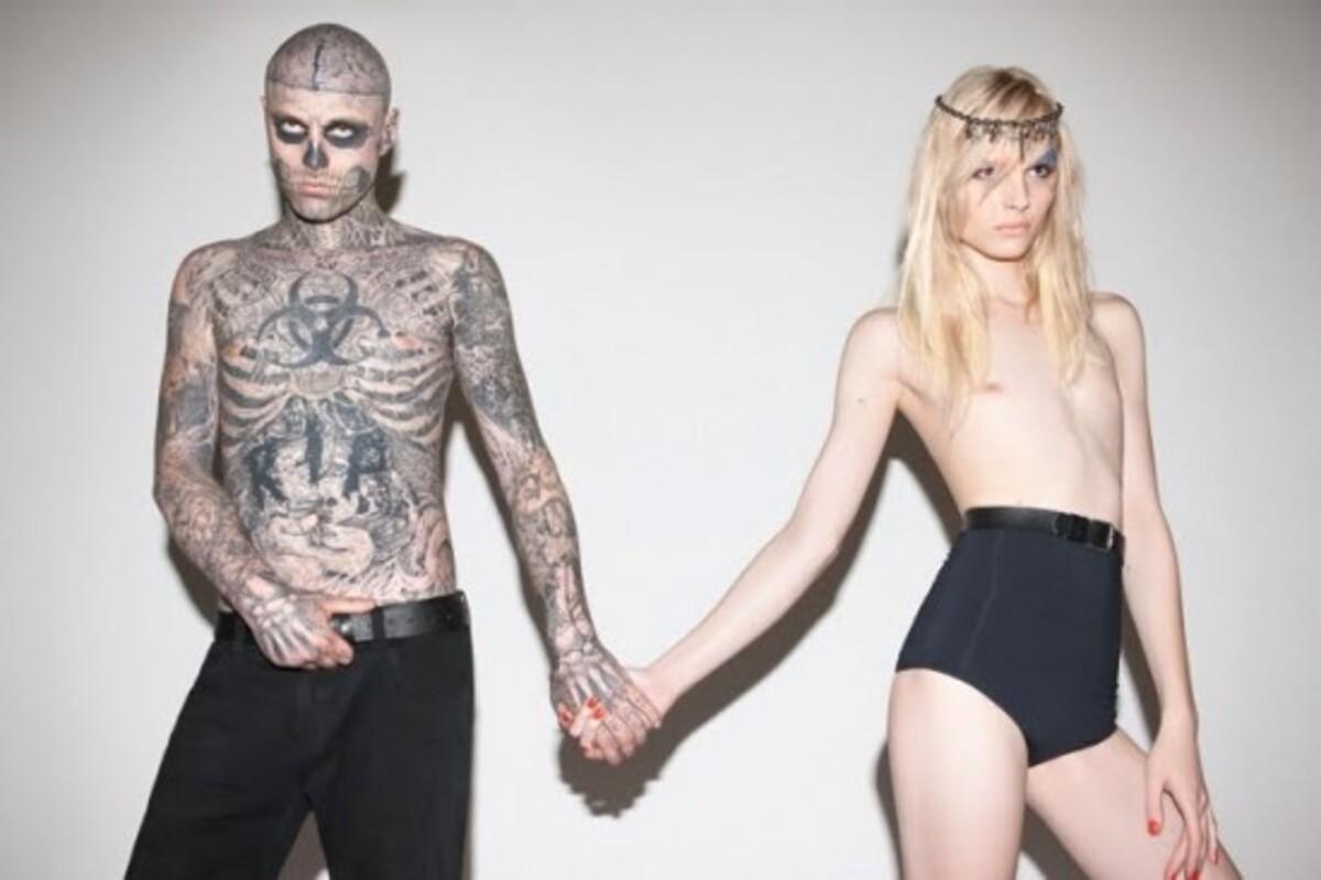 Зомби-бой и Андрей Пежич в рекламной кампании Auslander