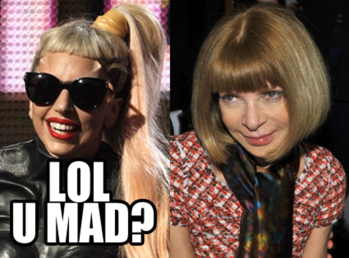 "Lady Gaga обозвала Анну Винтур ""сучкой"""