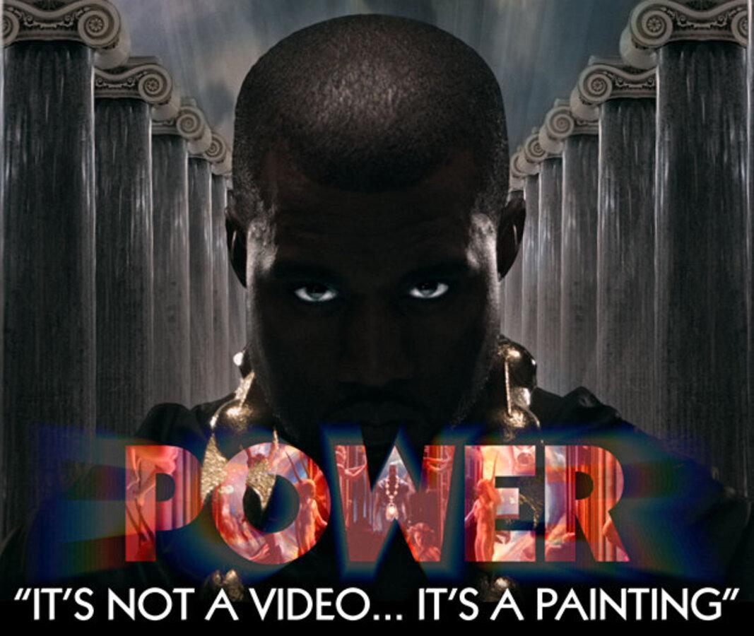 Видео: создание нового клипа Кани Веста - Power